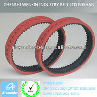 rubber timing belt process