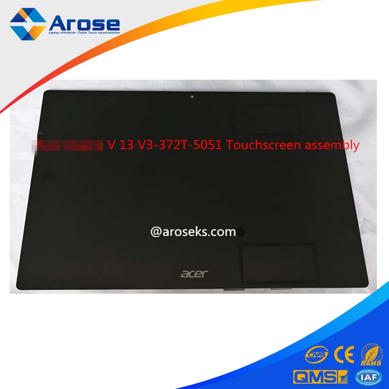 For Acer Aspire V 13 V3-372T-5051 13.3-inch Full HD LP133WF2-SPL7 Touchscreen assembly