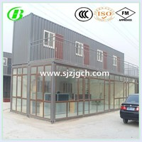 luxury foldable prefab container house from China factory
