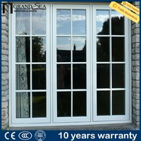 10 years warranty latest metal window grill design by china producer