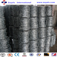 Stainless Steel Barbed Wire Length Per Roll