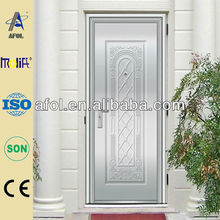 exterior stainless steel doors side panels