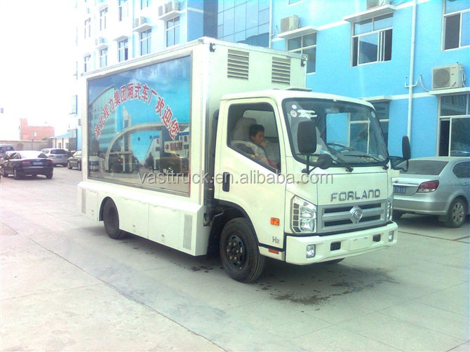 LED campaign van for sale