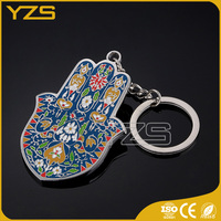 factory custom metal key chain for Christian prayer