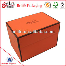 High Quality Fashion Custom Packing boxes biodegradable