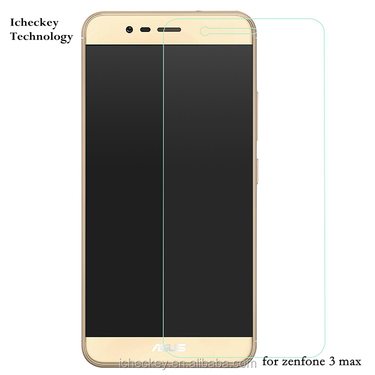 Shenzhen Factory Direct Price 2.5D Edge High Clear 0.33mm tempered glass screen protector for ASUS zenfone 3 max