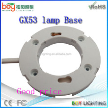 Good price gx53 base lampholder socket
