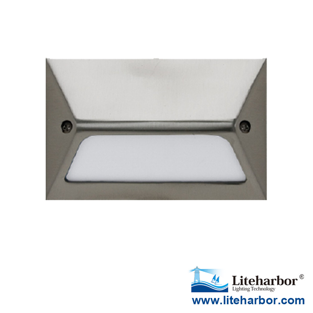 Die casting Aluminum UL Listed High Power Led Footlights