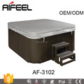 Chinese manufacturer aifeel in ground spa for 3 hot tub