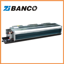 Chilled water duct fan coil unit for hotel, restaurant, house