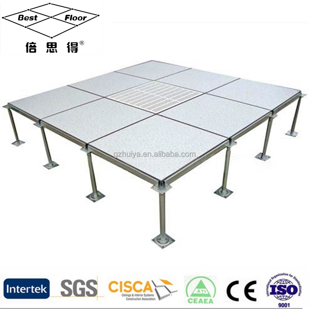 HPL Cementitious Infill Steel access raised floor false floor price