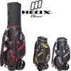 Helix PU made waterproof travel golf bag with wheels/ PU trolley golf bag for china golf clubs