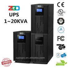 CE certificate High Frequency 1kva 2kva 3kva Online Uninterrupted Power Supply (UPS) with battery inside