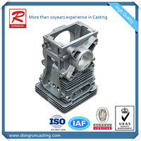 Motorcycle engine parts with sand casting,T6 heat treatment and black powder coat