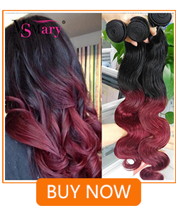 1B/Burgundy Ombre Hair Extensions Brazilian Body Wave 3 Bundles Aliexpress China