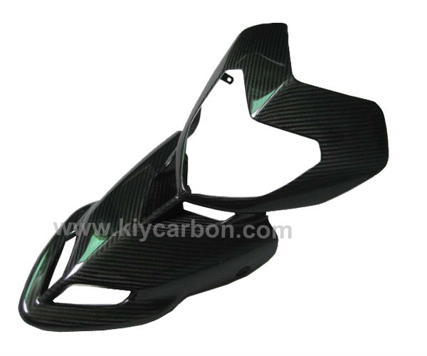 Carbon fiber motorcycle upper fairing for Ducati Hypermotard