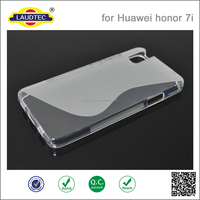 Soft Gel Silicone Matte TPU Phone Cover Case Skin For Huawei Honor 7 / Honor 7i