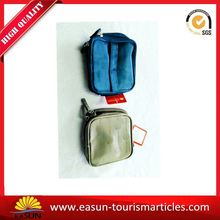 Cheap folding travel cosmetic first class amenity bag wholesale pvc bags