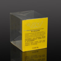Good Quality Small Custom Design Clear Plastic Business Card Boxes