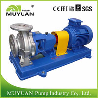Centrifugal chemical transfer pump, stainless steel axial suction acid pump