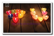 2016 New Style Favorable Glow Candle, Color Glowing Candles