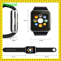 big Battery dual sim watch phone waterproof