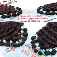 Good quality hair pieces wholesale synthetic weave low price remy loose wave hair extensions