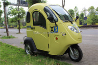 Hot Sale Electric Tricycle Closed ABS Cabin