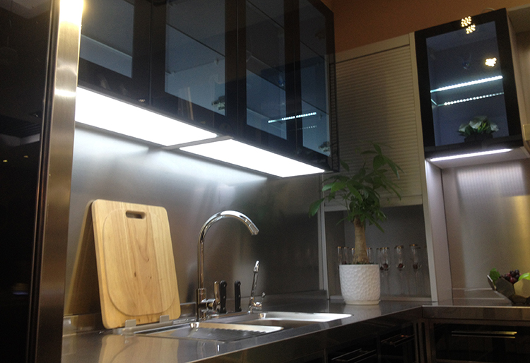 New invention built-in hand-shaking sensor kitchen cabinets light