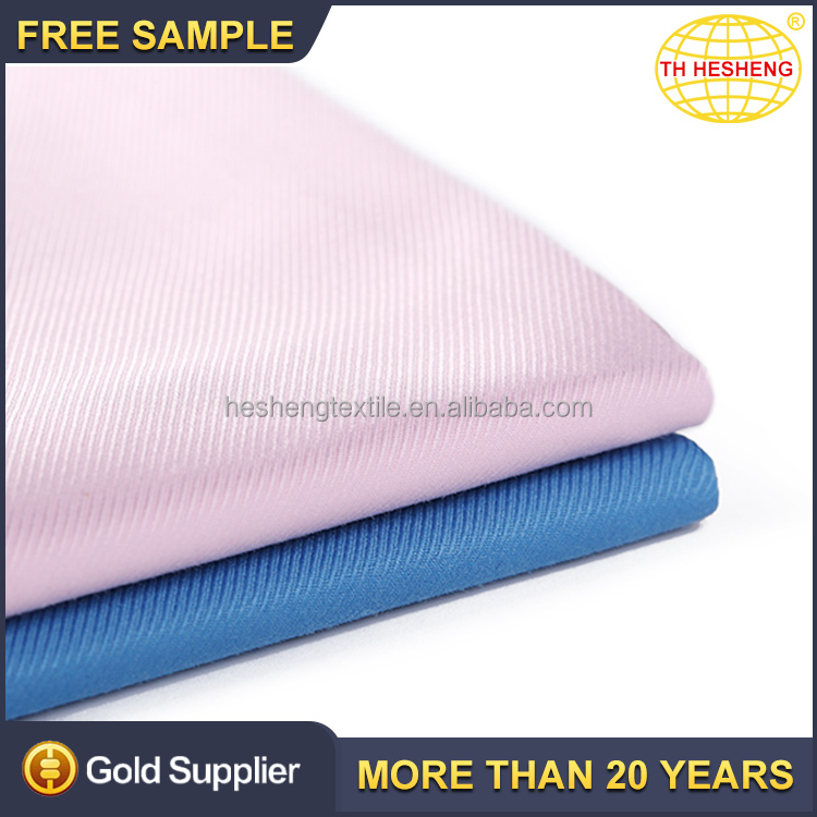 Hot sale custom clothing woven textile fabric wholesale cheap polyester cotton shirting fabric
