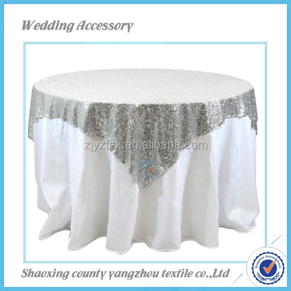 embroidery table cloth white taffeta petal table cloth