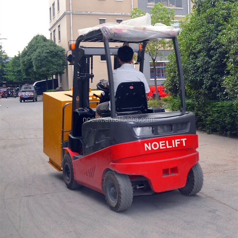 New Condition and Electric forklift Type four wheels electric battery forklift for sale by owner