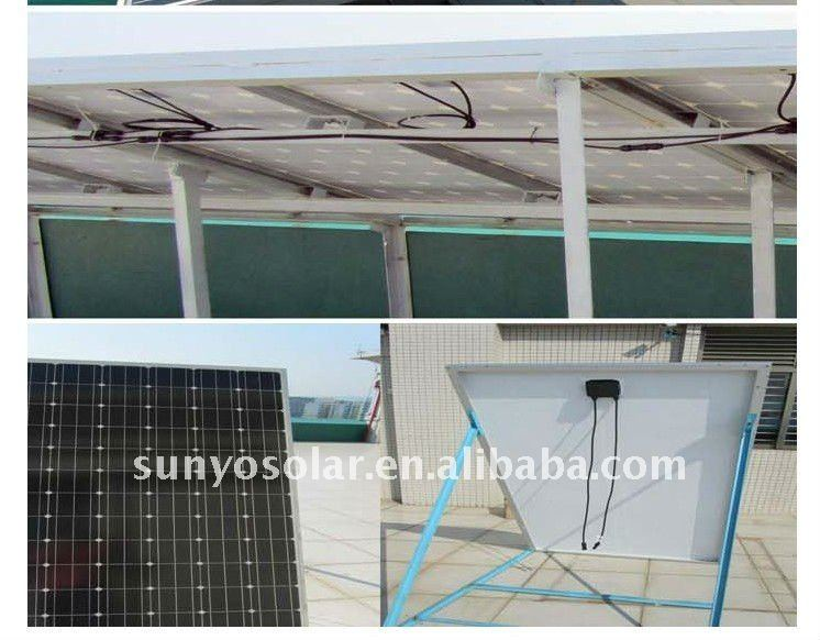 Solar Junction Box for Silicon Wafer PV Module