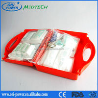 OP new product FDA ISO CE approved hot sale big plastic emergency factory earthquake survival kit