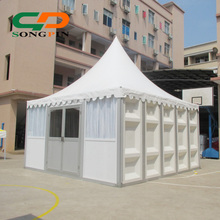 Luxury Weatherproof Sunshine Tourism Resort Leisure hotel Tents with Hard ABS walling system and Double leaf door