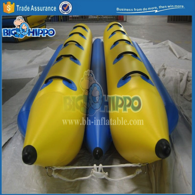 inflatable water games flyfish banana boat for sale