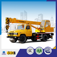8 ton mini crane mounted truck