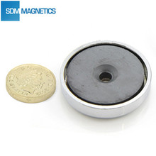 Ceramice Pot Magnet Ferrite Pot/Base Magnet with Good Quality