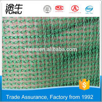 Trade Assurance Own Factory China Xinke supplys green construction safety net/plastic orange construction net