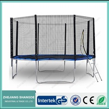 13ft bounce large round gym trampoline for indoor
