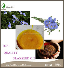Top Quality Omega 3 Raw Flax Seed Oil