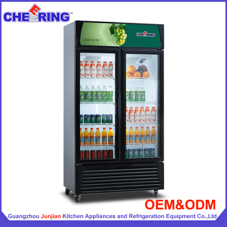 LG898A2 guangzhou factory supermarket refrigeration equipment cold beverage fridge/ bottle coolers/ soft drink display fridge