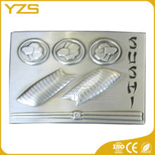 customized plate silver belt buckle