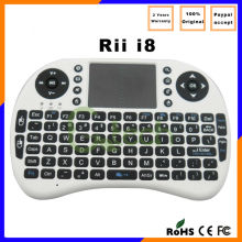 Rii i8 2.4G Wireless air mouse Mini wireless Keyboard with Touchpad For Smart TV