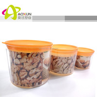 Plastic BPA Free food storage containers