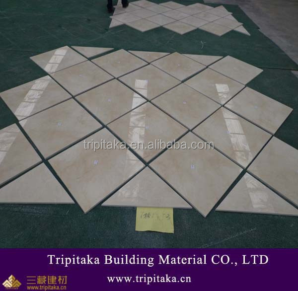 A Grade Polished Marble Type crema marfil floor tile