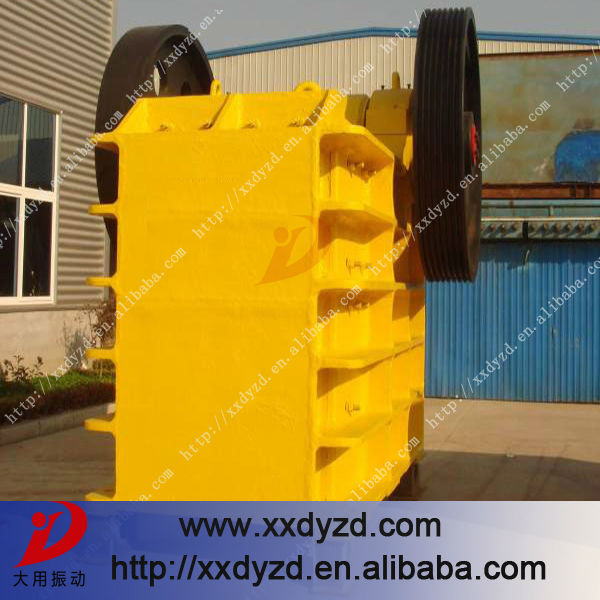 Large capacity jaw crusher specifications