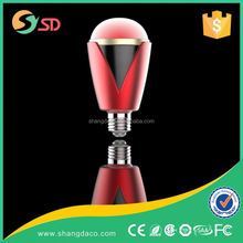 high power 5w E27 color changing led bulb /rgb led bulb lamp