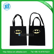 Fashion City Name Printing Souvenir Tote blank canvas tote bag Factory customized design