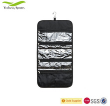 Large Size Various Compartments Hanging Toiletry Bag Ideal for Storing Cosmetics & Jewelry in an Organized Way